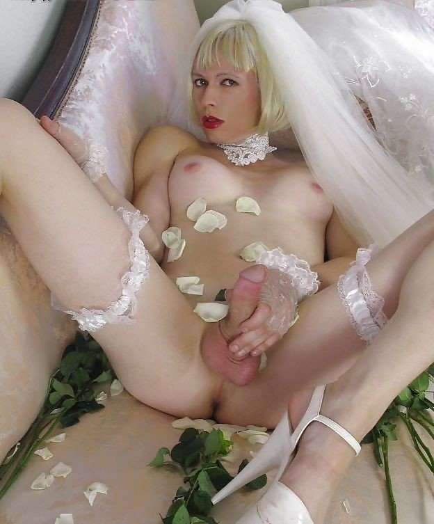 Shemale Trap Bride RushPorn 1